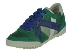 Track style-jongensschoenen-groen lage veterschoen1