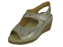 Durea-sandalen-Durea Sandaal met Sleehak1