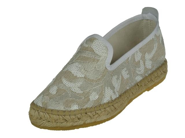 7953 P.O.S. Espadrille wit