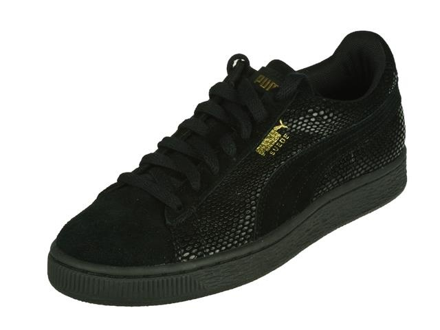 8106 Puma Sneaker Suede zwart