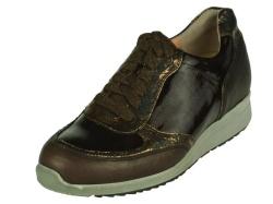 Durea-steun- gemakschoenen-Bruin sneaker1