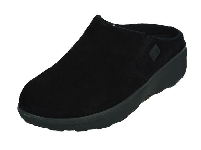 8556 FitFlop Loaff Suede Clogs