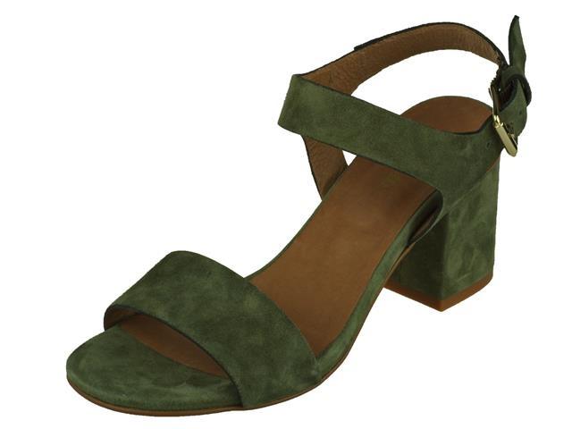 Carmens Sandalet groen