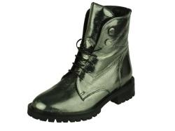 Carmens-halfhoge schoen-Dames boot zilver1