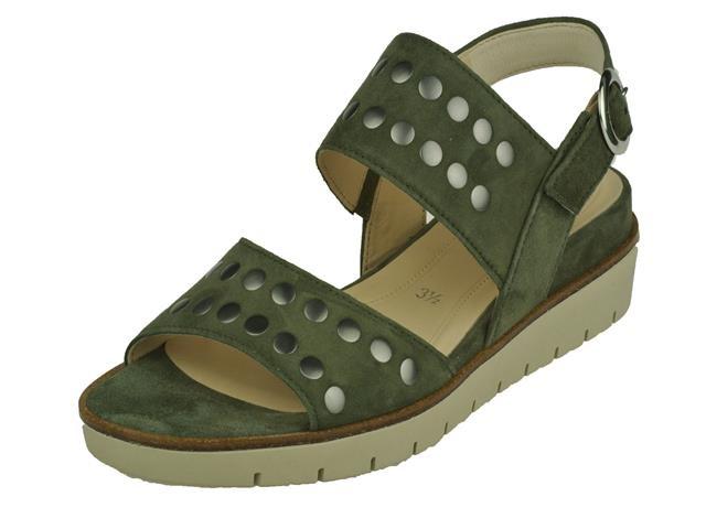 10013 Gabor groen sandaal