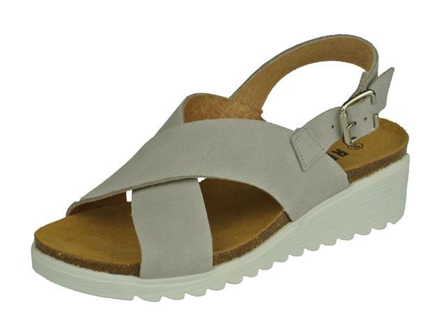 Red Rag Grey sandaal