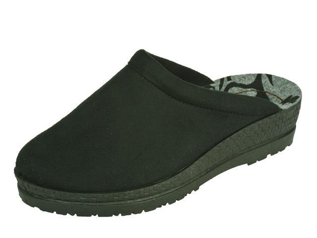 10187 Rohde Pantofeel slipper zwart