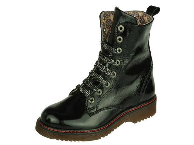 Red Rag Biker boot