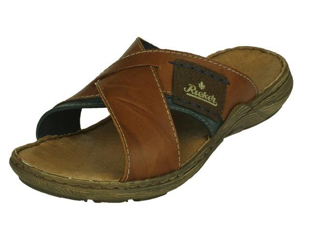 Image of Rieker Rieker heren Kruisband slipper