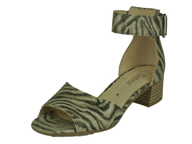 Image of Gabor Gabor geklede Sandalet op hakje