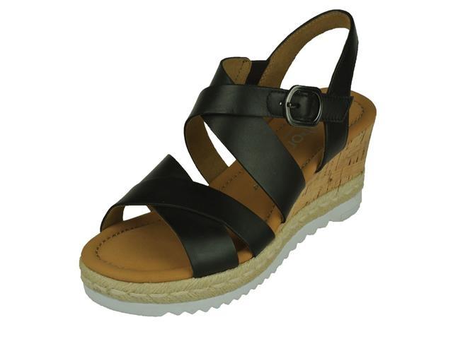 Image of Gabor Gabor comfort open Sandalet Op kurk Sleehak