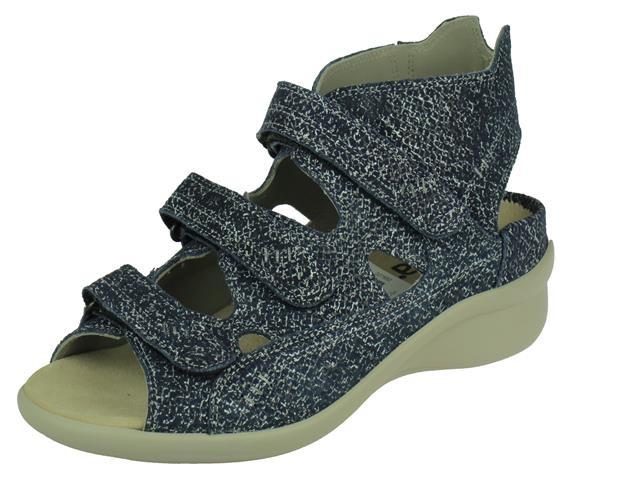 Durea Durea comfort Hoge Klittenband sandaal