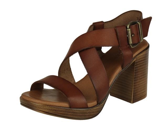 Red Rag High Heel Sandal