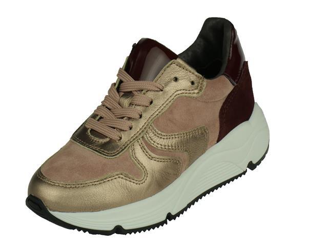 HIP Shoe Style Hip Meisjes Sneaker. met rits sluiting