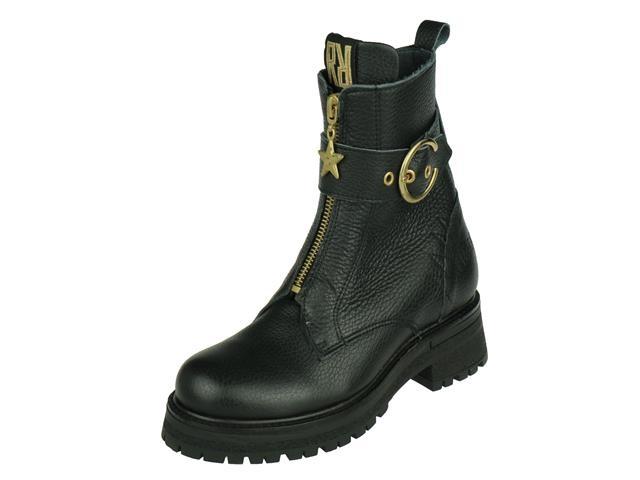 Red Rag Girl Mid Boot Zip